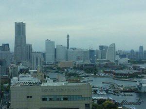 横浜のマリンタワーからの景色