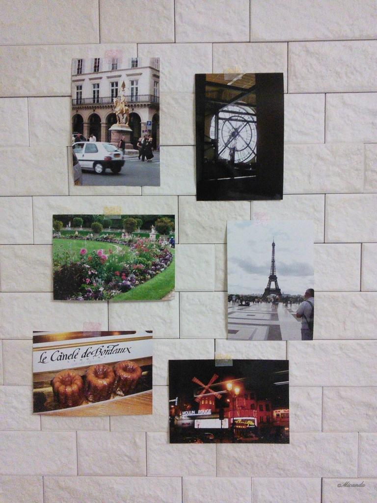 以前に旅行したパリで撮影した写真たち