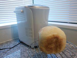 実際にタイガーのパン焼き機「GRAND X」で作ったパン