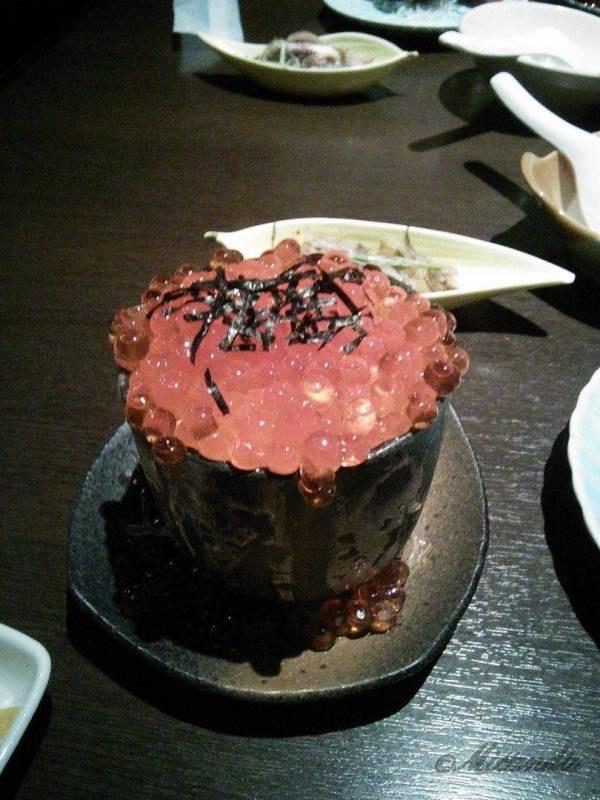 「函館・沙羅の月」さんのミニいくら丼