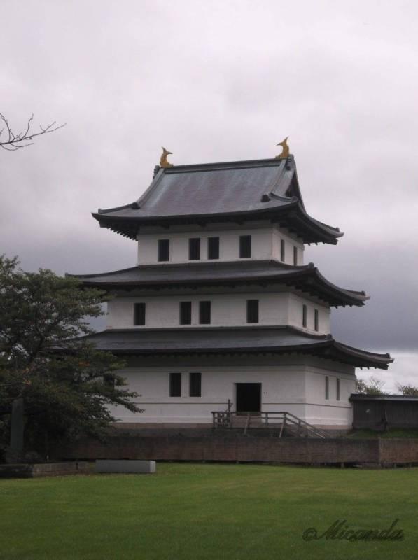 北海道唯一の日本式のお城である松前城