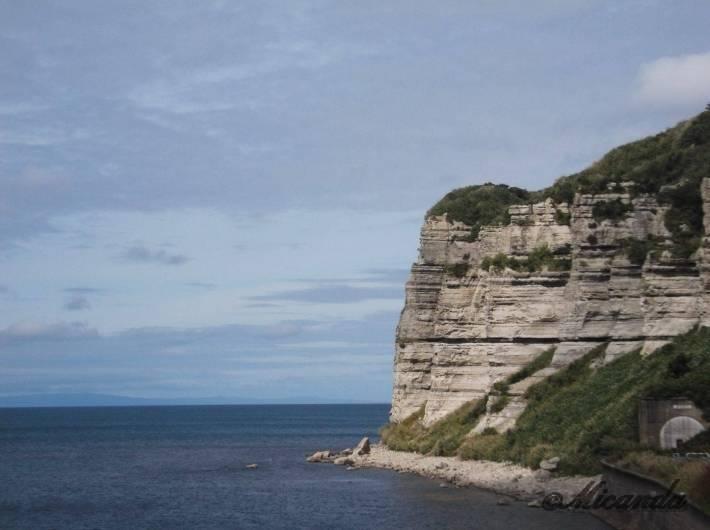 北海道の館の岬