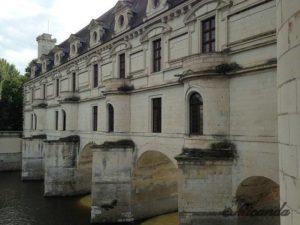 シュノンソー城のディアーヌの架けた橋を回廊にした部分
