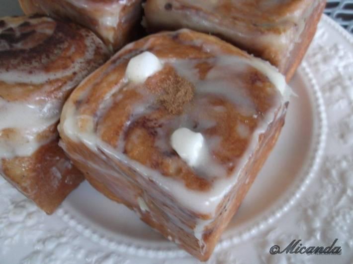 シナモンロールのお店の「セイロン」のハニーバター&トリプルナッツ