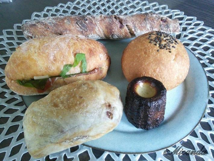 向ヶ丘遊園にあるセテュヌ ボン ニデーで以前買ったパンたち