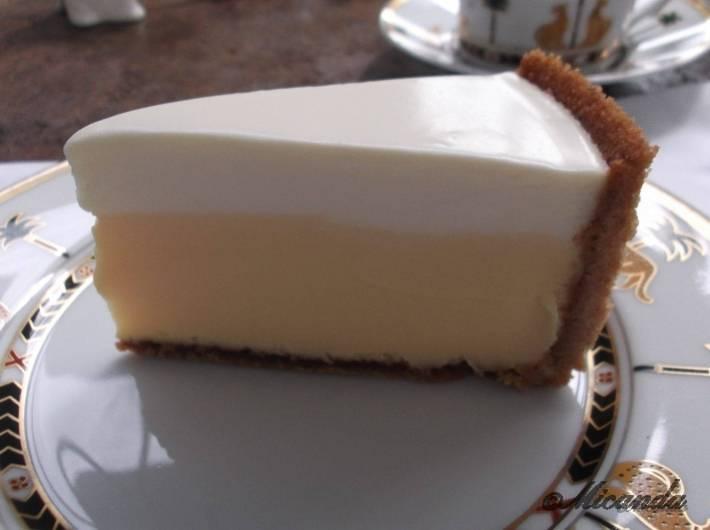 ハウスオブフレーバーズのチーズケーキのアップ