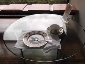 ハウスオブフレーバーズの完食した後のテーブル