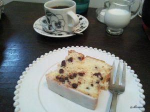 ヒアシンスカフェのバウンドケーキ