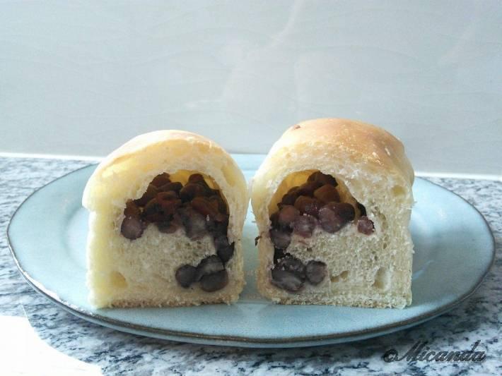 ル・ミリュウで買ったパンの断面