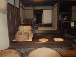 江東区深川江戸資料館のつき米屋の「上総屋」
