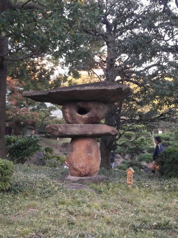 清澄庭園の灯籠