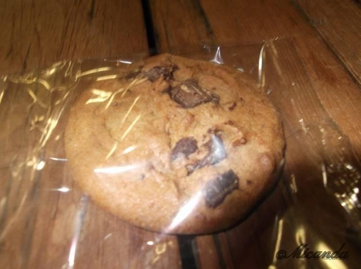ザ・クリーム・オブ・ザ・クロップ・コーヒーのチョコチップの入ったクッキー