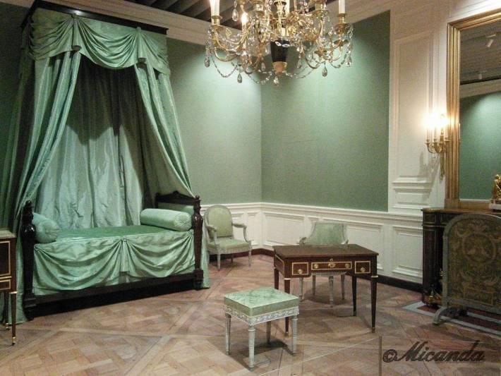 マリー・アントワネット展の展示、居室