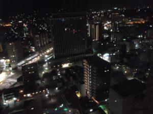 ホテル日航金沢から見た夜景2