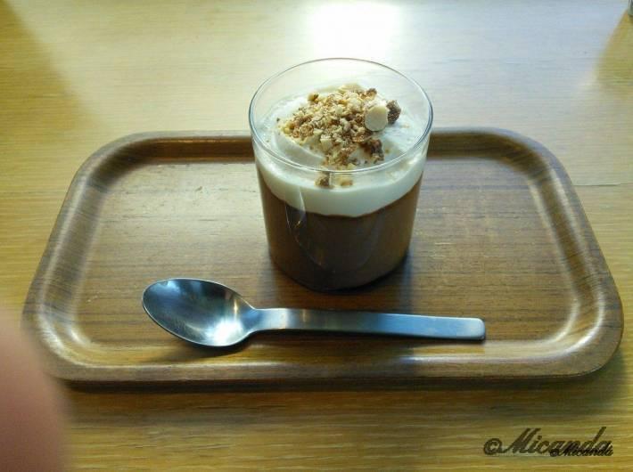 ガーデンカフェのデザート