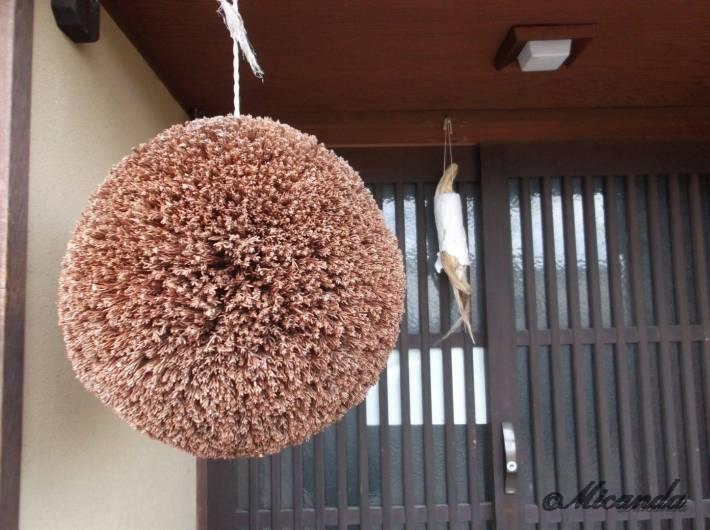 金沢の主計町茶屋街で見つめた杉玉