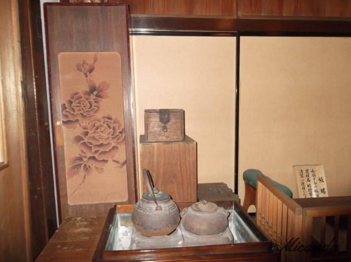 お茶屋『志摩』の炉