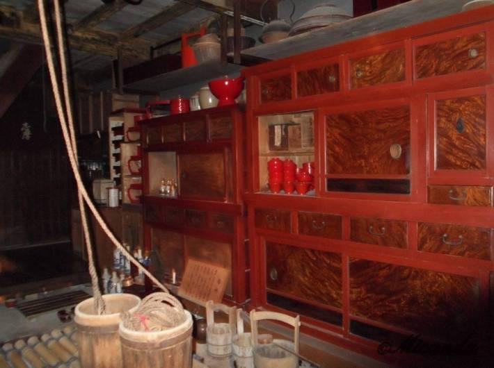 お茶屋『志摩』の台所