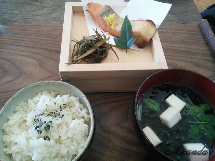 TUTUJI CAFEのお米御膳