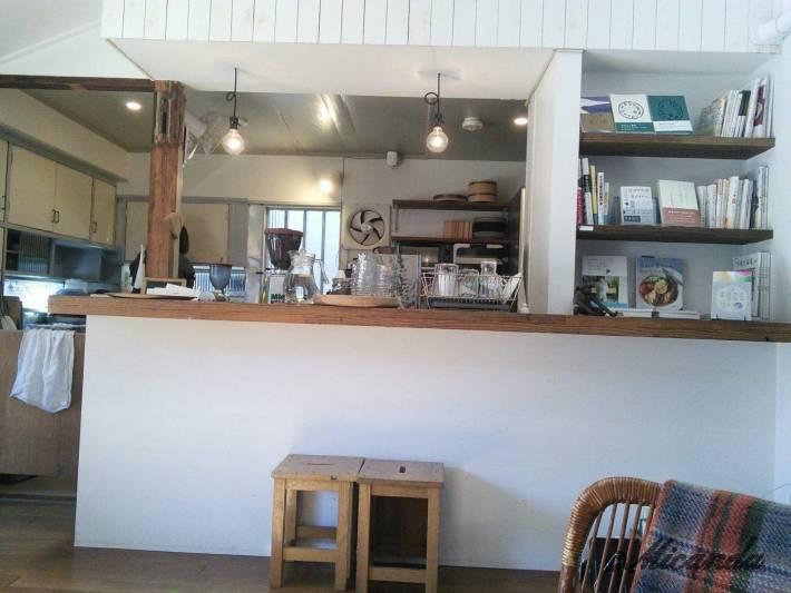 TUTUJI CAFEのキッチン