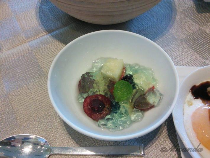 ザ・ひらまつ ホテルズ&リゾーツ仙石原の朝食のデザート