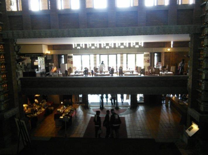 帝国ホテル本館「ライト館」にあるティーサロン