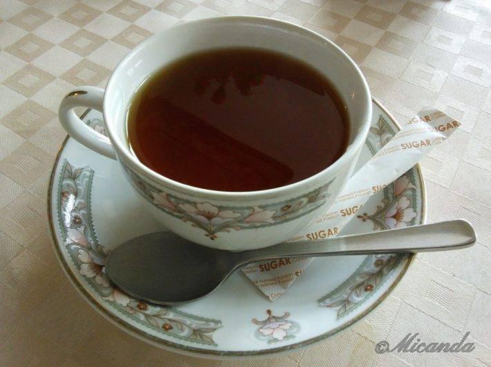 帝国ホテル本館「ライト館」にあるティーサロンの紅茶
