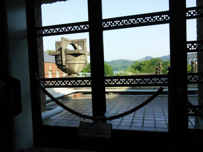 帝国ホテル本館「ライト館」にあるティーサロンから見える景色